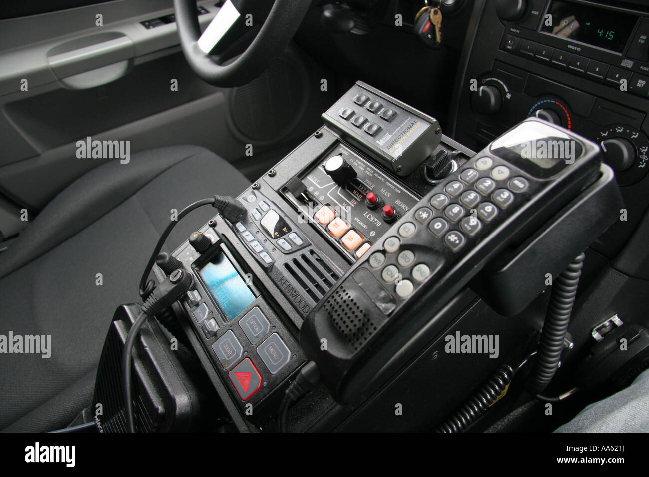 Le Meilleur Police Car Radio And Emergency Equipment Control Panel Ce Mois Ci