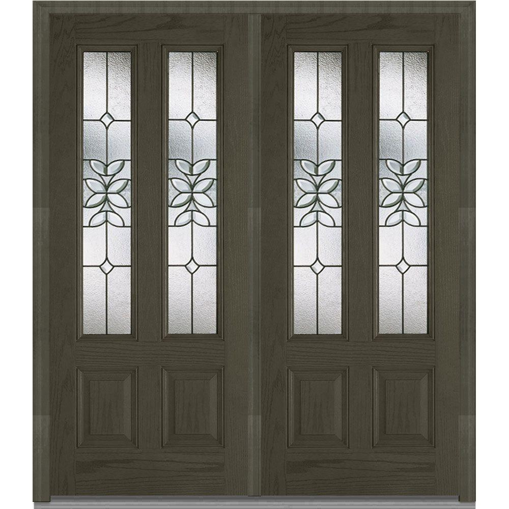 Le Meilleur Mmi Door 74 In X 81 75 In Cadence Decorative Glass 2 Ce Mois Ci