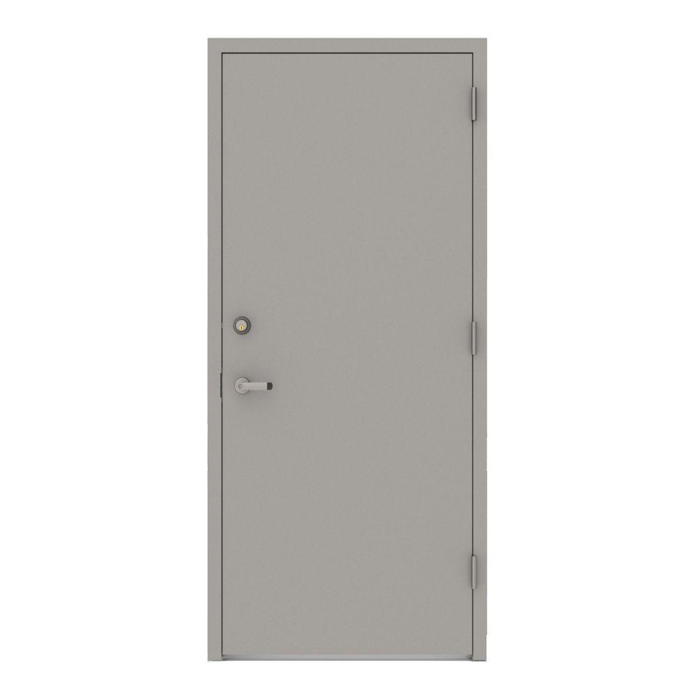 Le Meilleur L I F Industries 36 In X 80 In Gray Flush Left Hand Ce Mois Ci