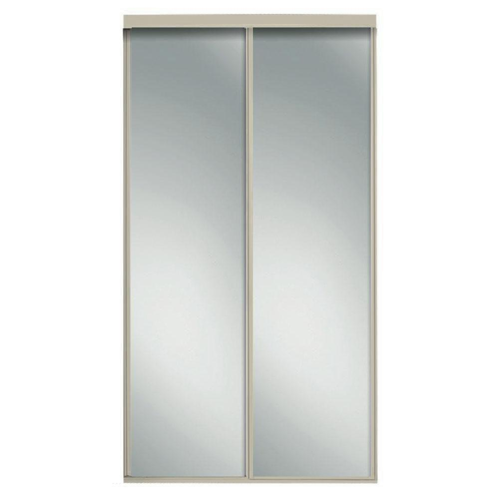 Le Meilleur Contractors Wardrobe 48 In X 96 In Concord Brushed Ce Mois Ci