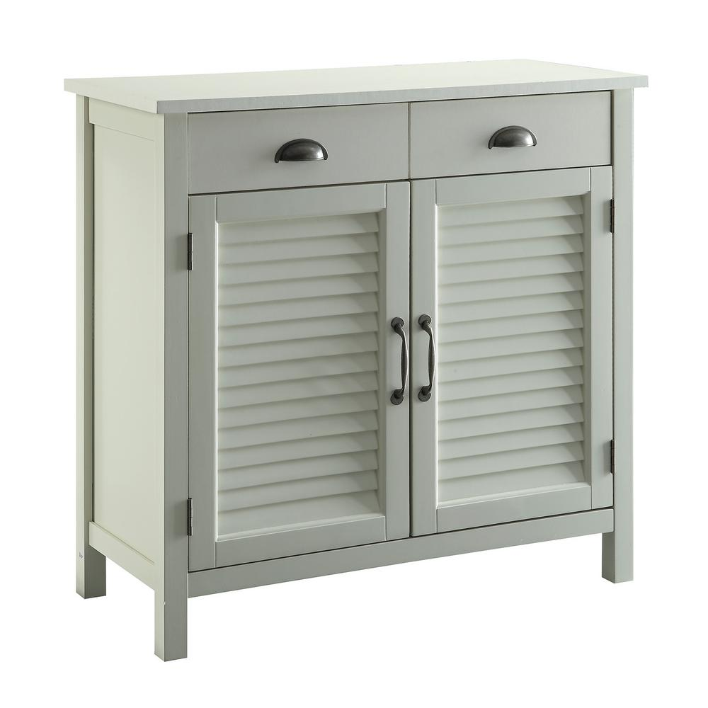Le Meilleur Olivia White Accent Cabinet 2 Shutter Doors And 2 Drawers Ce Mois Ci