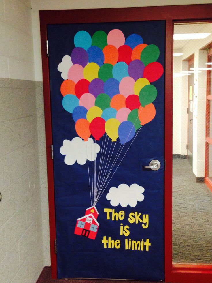Le Meilleur Classroom Door Decor Inspired By The Movie Up Instead Of Ce Mois Ci