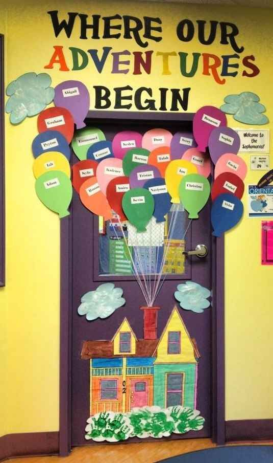 Le Meilleur 29 Awesome Classroom Doors For Back To School Bulletin Ce Mois Ci