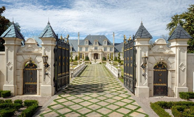 Le Meilleur Incredible 32 Million French Inspired Estate In Dallas Ce Mois Ci