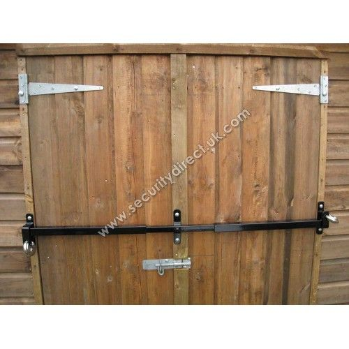 Le Meilleur Shed Double Door Security Shed Security Bar Garage Et Ce Mois Ci
