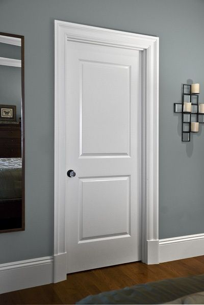Le Meilleur Clean Simple Interior Door Trim And Mouldings Latest Ce Mois Ci
