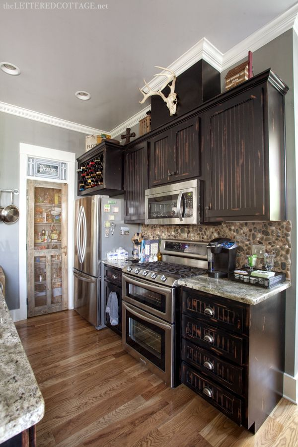 Le Meilleur I Like The Rustic But Modern Look Of This Kitchen Ce Mois Ci