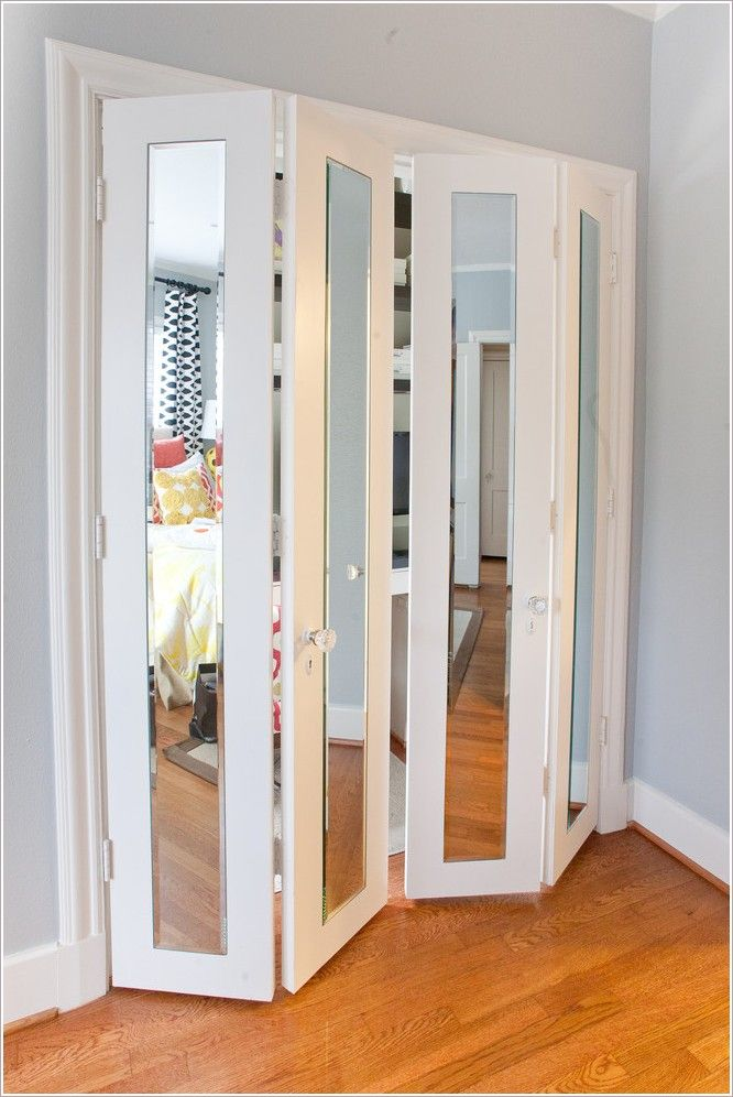Le Meilleur Mirror Bifold Closet Doors My Bedroom In 2019 Mirror Ce Mois Ci