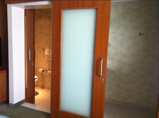 Le Meilleur Wooden Sliding Bathroom Doors For Small Spaces With Ce Mois Ci