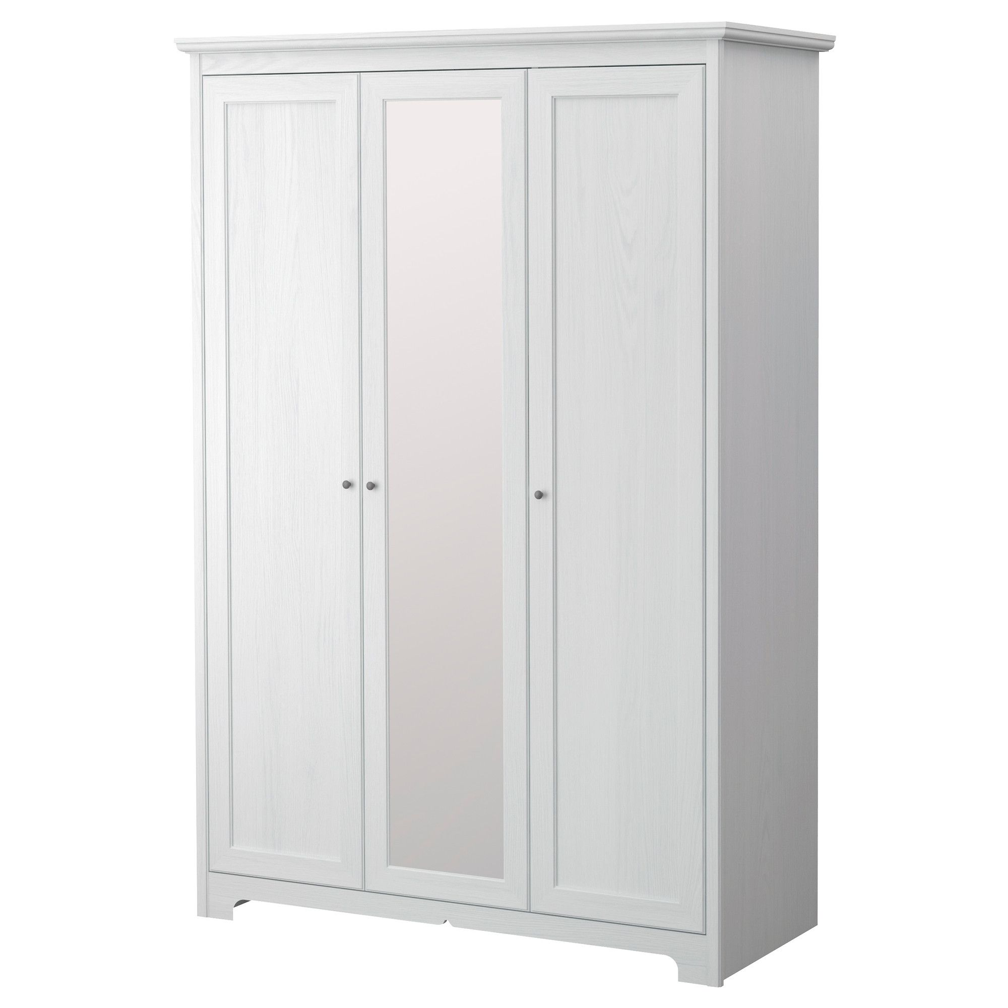 Le Meilleur Aspelund Wardrobe With 3 Doors Ikea Would Replace Knobs Ce Mois Ci