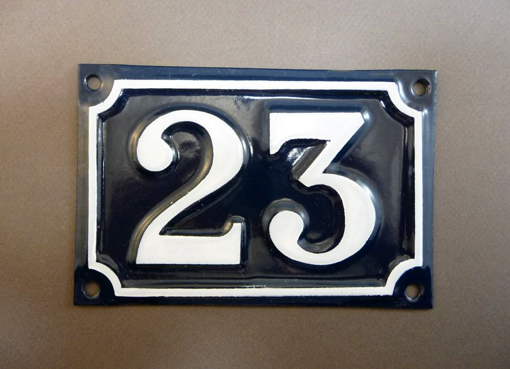 Le Meilleur French Door Number 28 Blue Enamel Street Sign From 1 To Ce Mois Ci