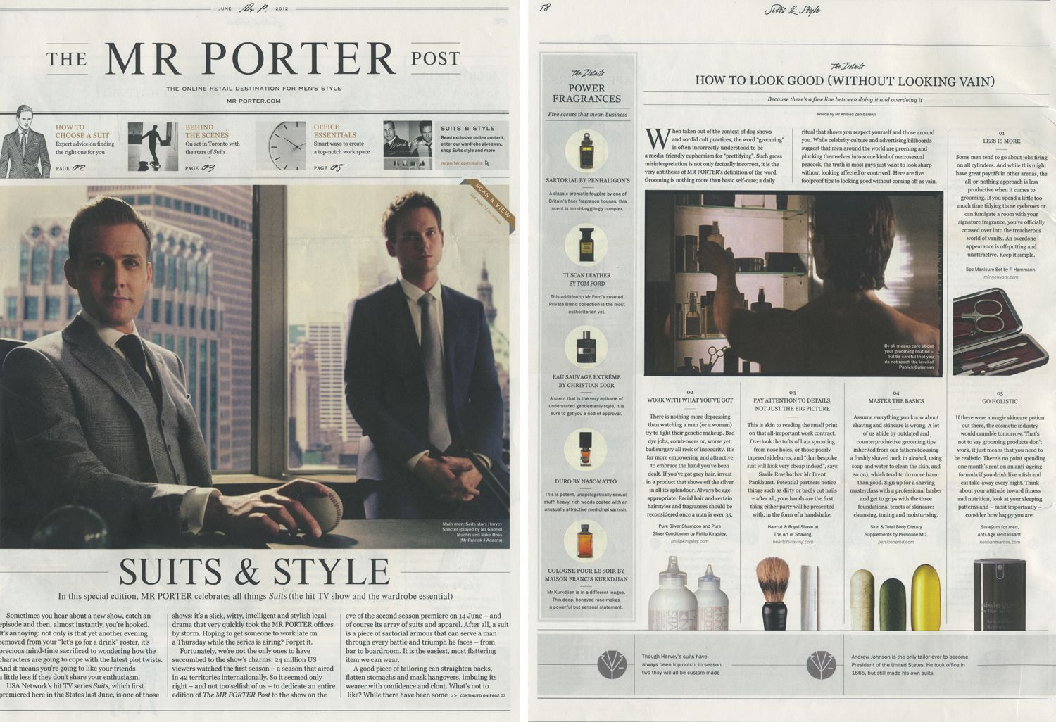 Le Meilleur Image Result For Mr Porter Newspaper Layout Print Layout Ce Mois Ci