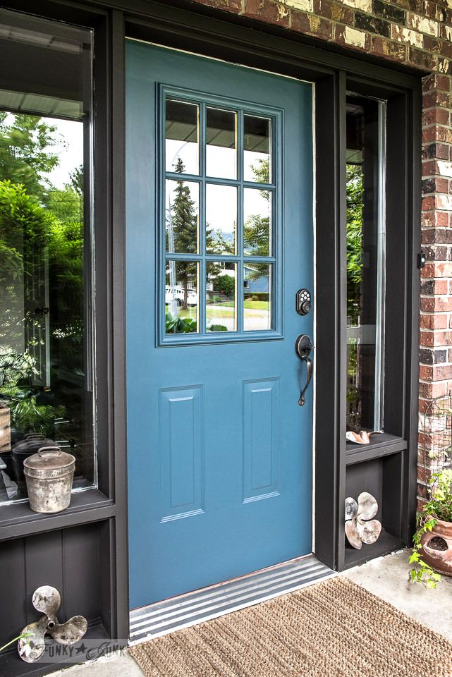 Le Meilleur Industrial Front Door Redo With Painting Tips Diy All Ce Mois Ci