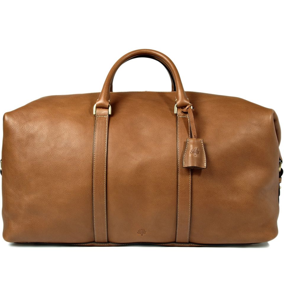 Le Meilleur Product Mulberry Clipper Leather Holdall Bag 365727 Ce Mois Ci