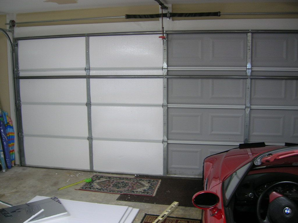 Le Meilleur Living Stingy Insulating Your Garage Door For Cheap Ce Mois Ci