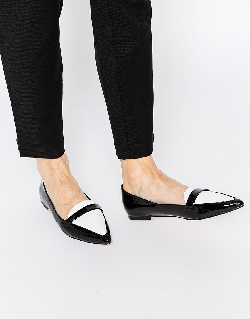 Le Meilleur Asos Leigh Pointed Ballet Flats Sole Society In 2018 Ce Mois Ci