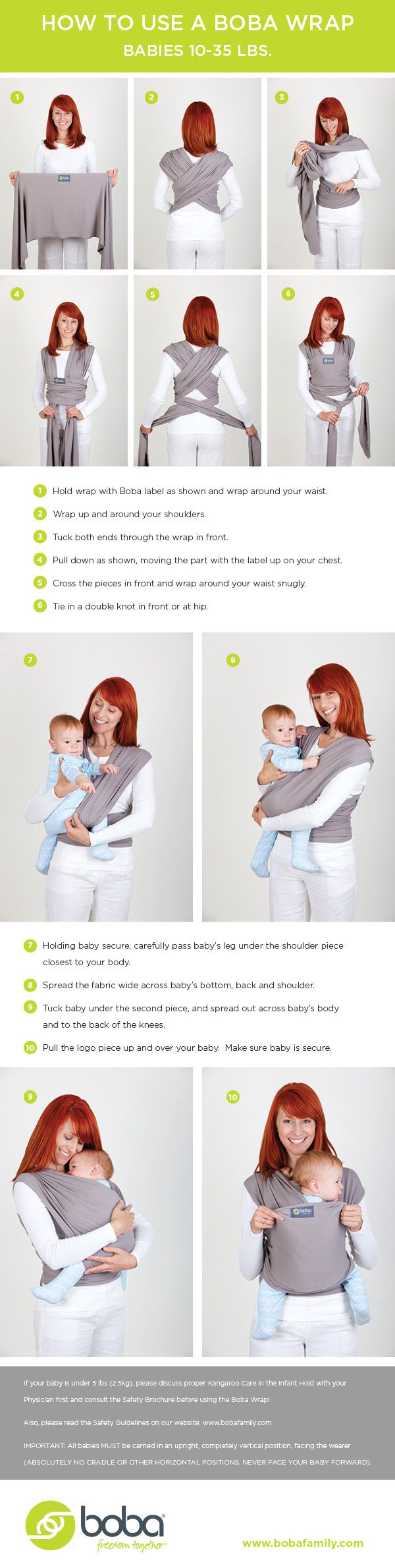 Le Meilleur Helpful Instructions On How To Tie A Wrap Baby Carrier And Ce Mois Ci
