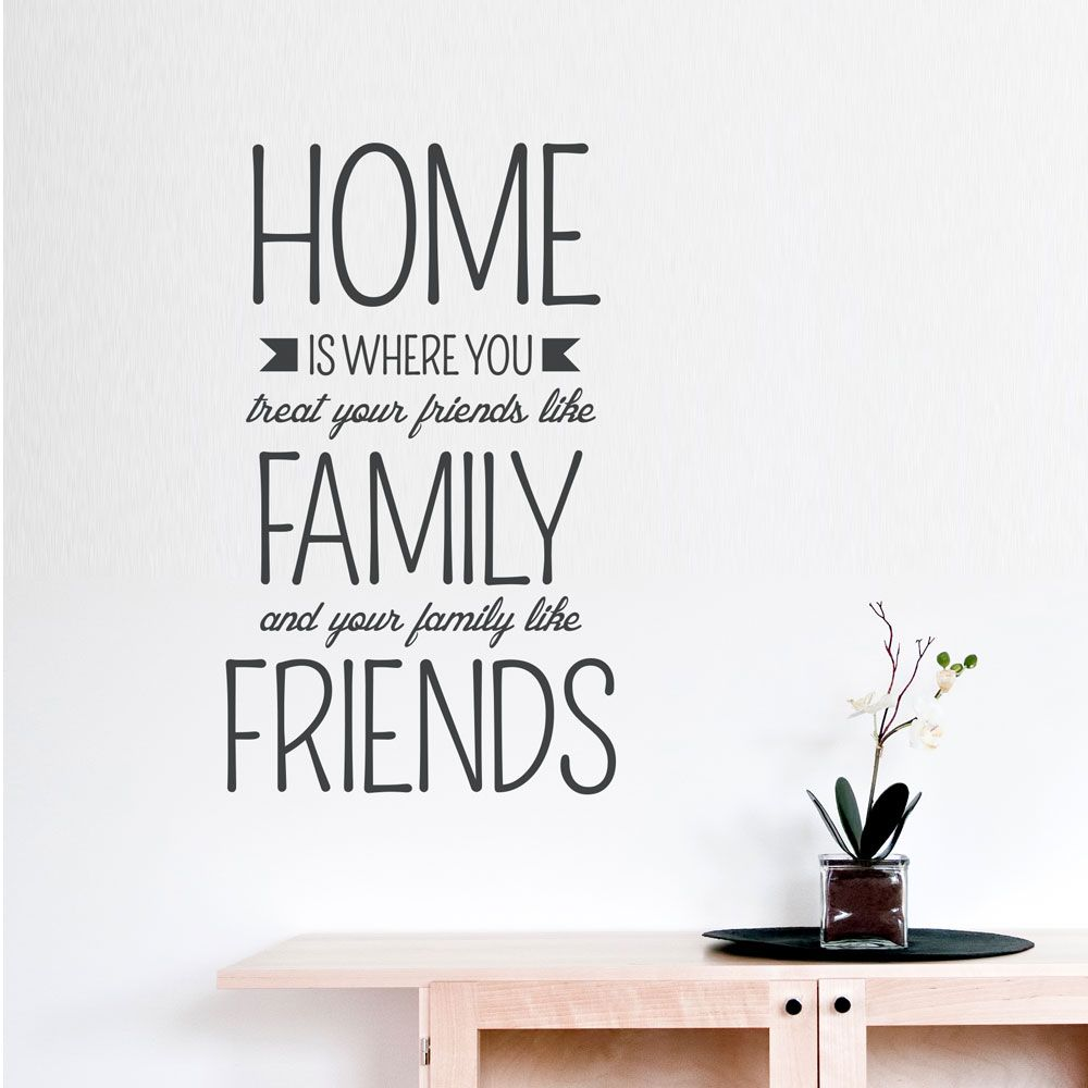 Le Meilleur Home Is Where Wall Quote Decal In 2019 Wall Quote Ce Mois Ci