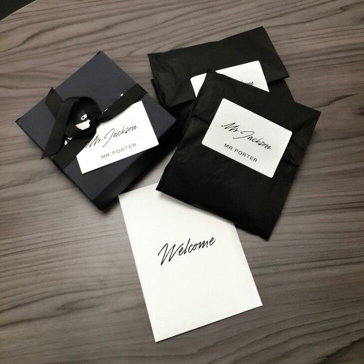 Le Meilleur Mr Porter Design Jewelry Packaging Packaging Design Ce Mois Ci