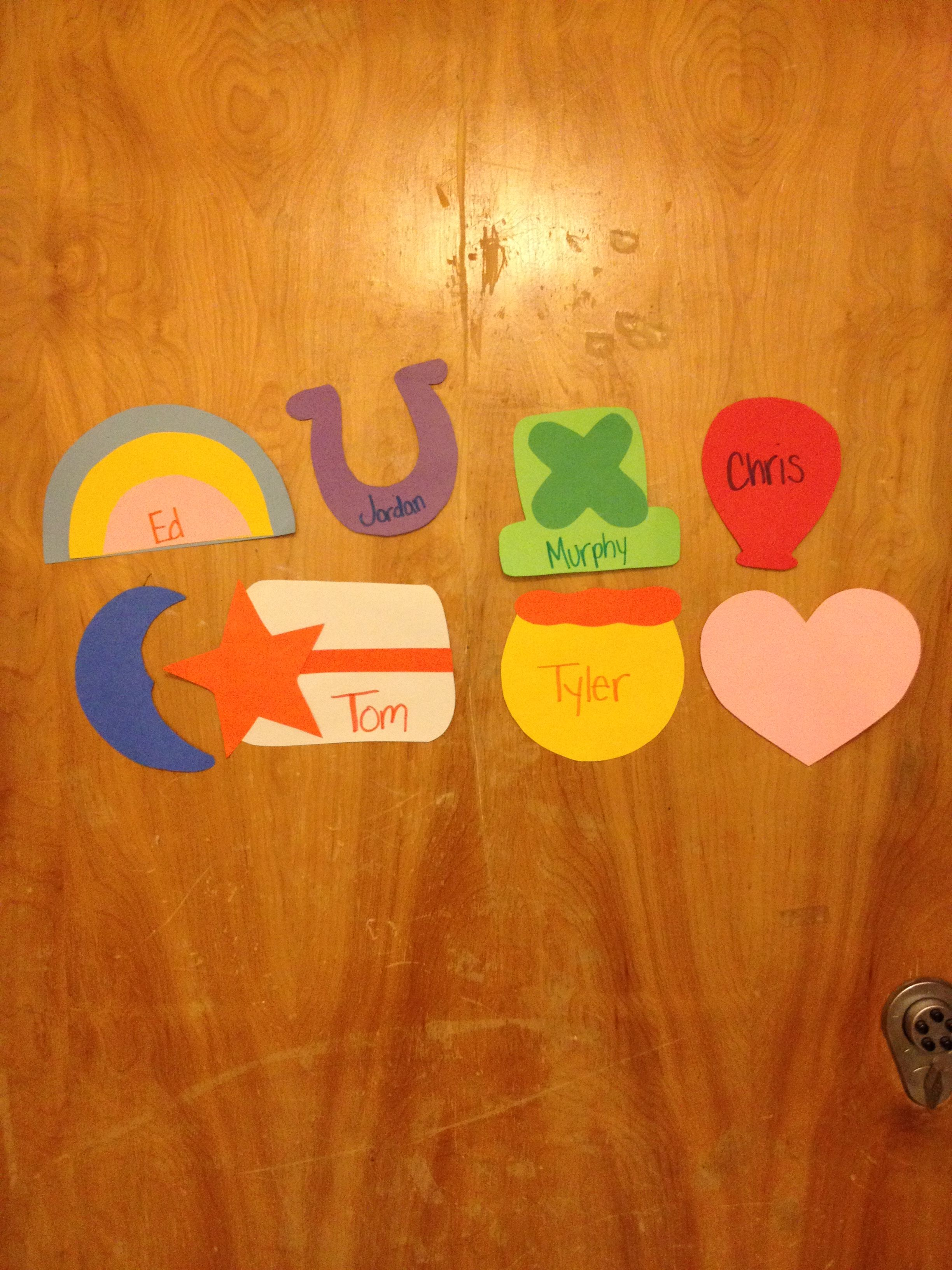 Le Meilleur Lucky Charms Door Tags Ra Boards And Door Tags Door Ce Mois Ci