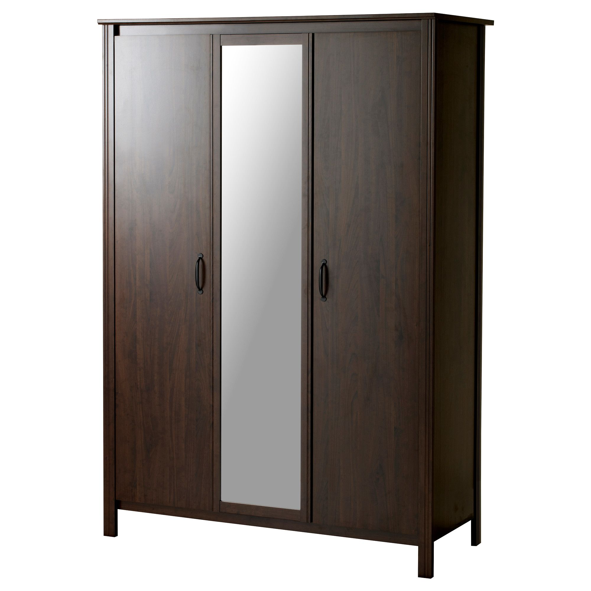 Le Meilleur Brusali Wardrobe With 3 Doors Ikea For The Practice Room Ce Mois Ci