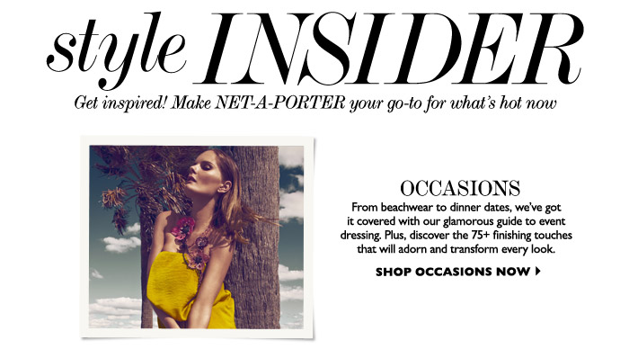Le Meilleur Net A Porter Newsletter – Email Gallery Ce Mois Ci