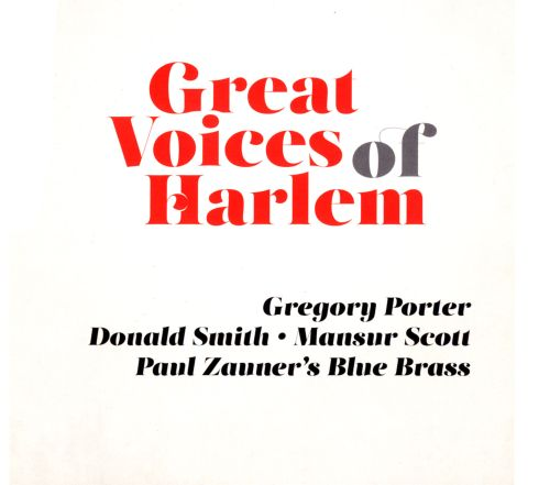 Le Meilleur Great Voices Of Harlem Gregory Porter Donald Smith Ce Mois Ci