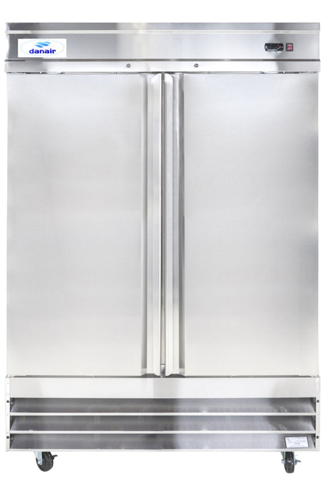 Le Meilleur Stainless Steel 2 Swinging Doors 54 Wide Commercial Ce Mois Ci