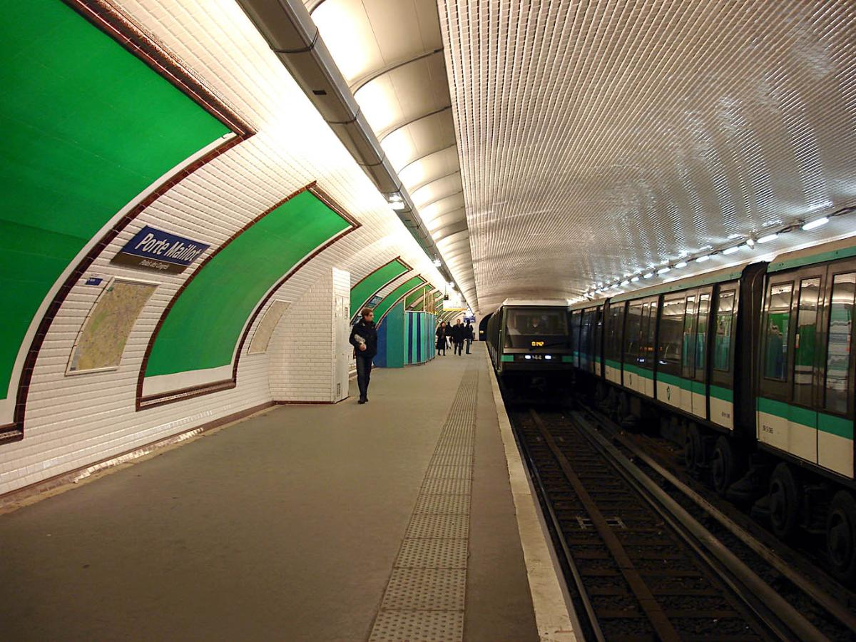 Le Meilleur Porte Maillot Metro Station Paris 16 Th Paris 17 Th Ce Mois Ci