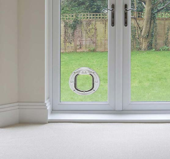 Le Meilleur Installing Dogs And Cat Fl*Ps In Double Glazing Glass And Ce Mois Ci