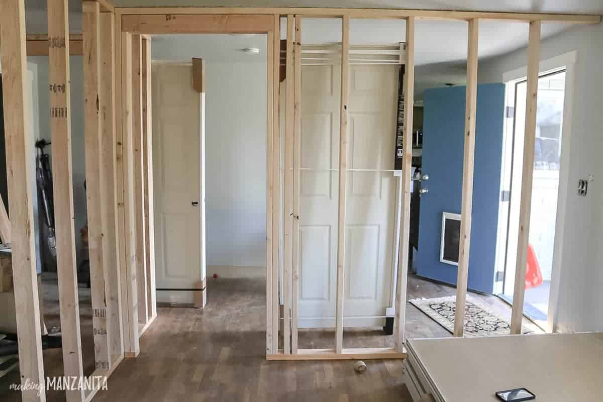 Le Meilleur How To Build A Wall Part 2 Framing A Door Making Ce Mois Ci
