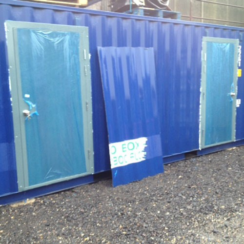 Le Meilleur Shipping Container Door Idea For Conversions And Self Ce Mois Ci
