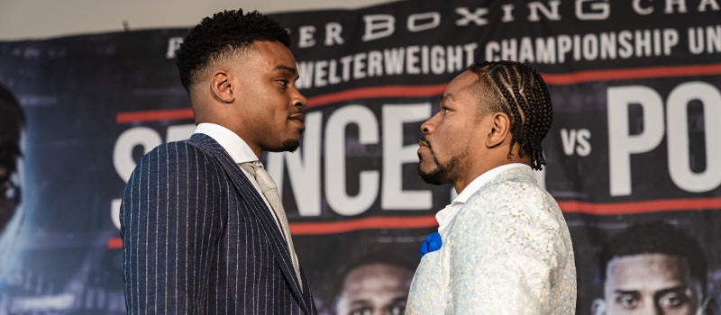 Le Meilleur Video Spence And Porter Engage In War Of Words Boxing Ce Mois Ci