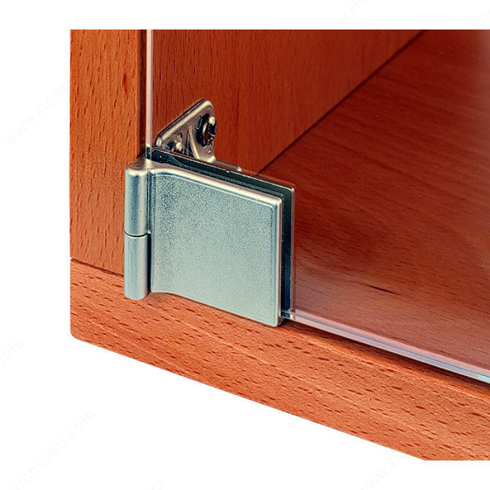 Le Meilleur Snap In Hinge For Glass Door Recessed Within Furniture Ce Mois Ci