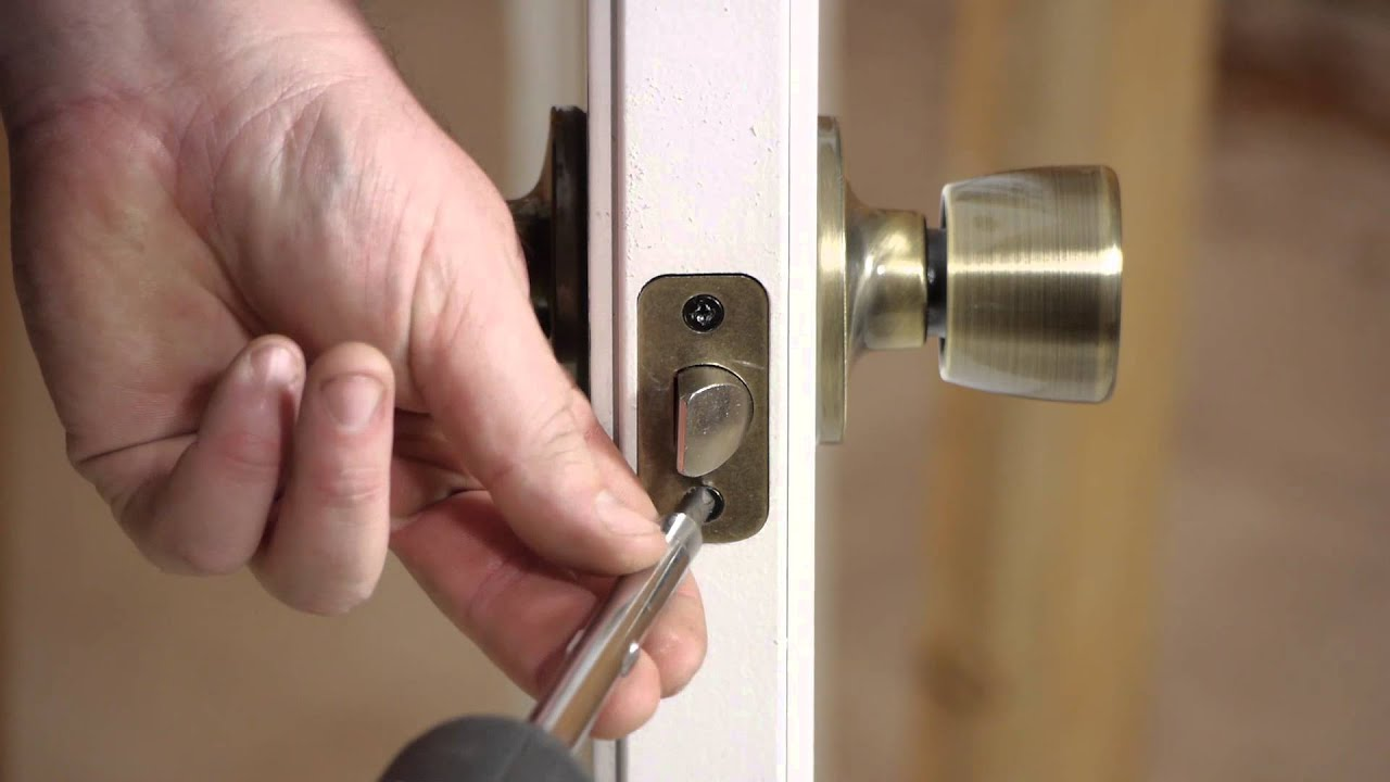Le Meilleur How To Fix Outside Door Lock Bolts Stripped In Wood Door Ce Mois Ci