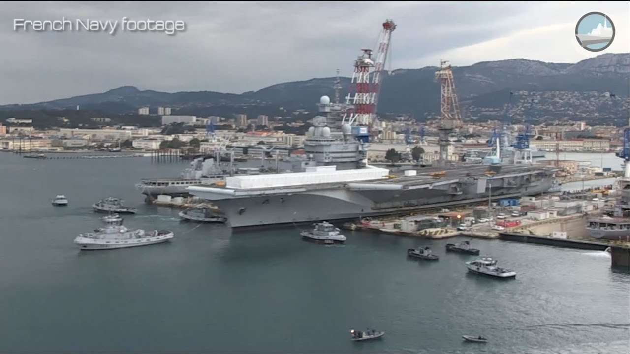 Le Meilleur French Navy Aircraft Carrier Charles De Gaulle Mid Life Ce Mois Ci