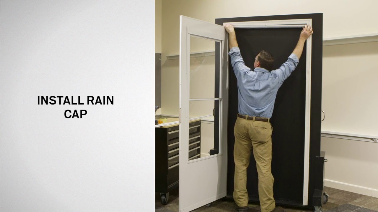 Le Meilleur Installing Storm Doors With The 2 Hour Easy Installation Ce Mois Ci