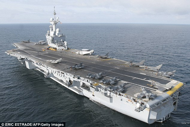 Le Meilleur French Aircraft Carrier Joins The Fight Against Isis In Ce Mois Ci