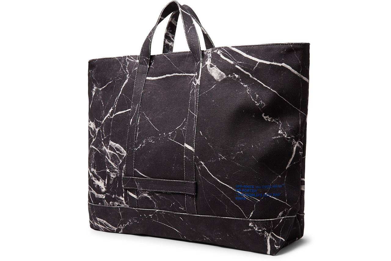 Le Meilleur Off White™'S Mr Porter Exclusive Tote Bag Is Now Available Ce Mois Ci