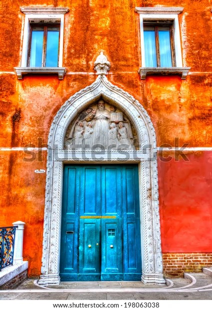 Le Meilleur Beautiful Door Old Building Venice Italy Stock Photo Edit Ce Mois Ci