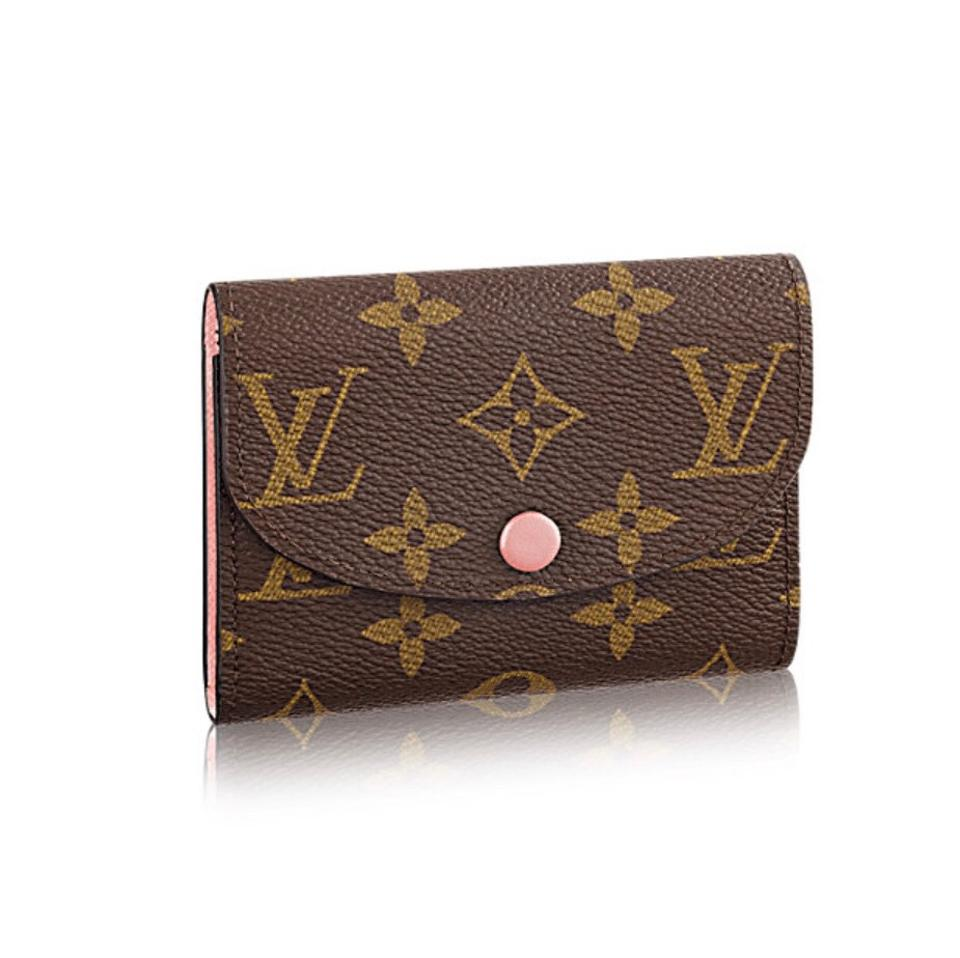 Le Meilleur Louis Vuitton Rose Ballerine Rosalie Coin Purse Wallet Ce Mois Ci