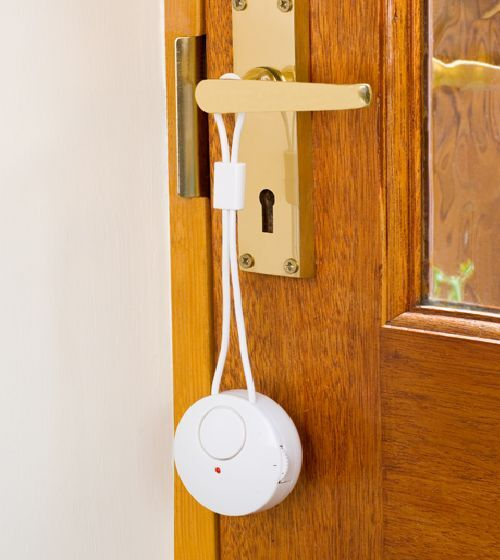 Le Meilleur Door Handle Alarm Detects Door Opening Sounds Alarm Ce Mois Ci