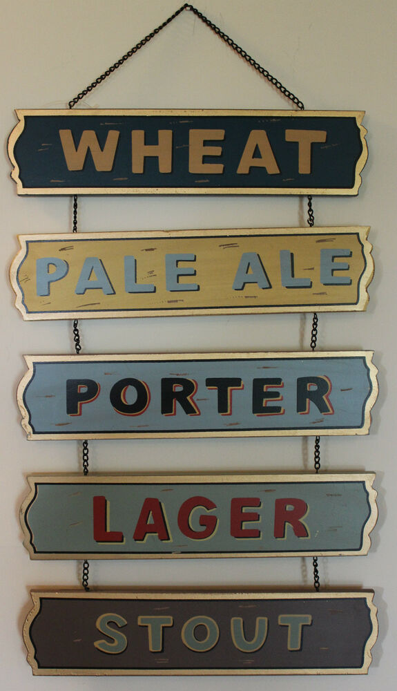 Le Meilleur Beer Stout Ipa Porter Lager Wheat Chain Wooden Sign Ce Mois Ci