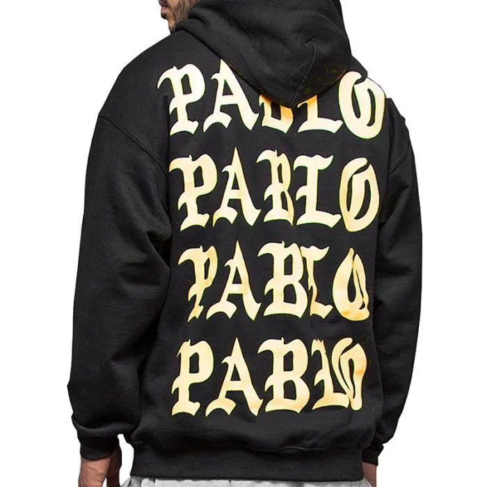 Le Meilleur Yeezy Pablo Fear Of G*D Sweat Shirt Pull Over Oversize À Ce Mois Ci