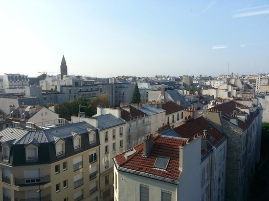 Le Meilleur View From Room Picture Of Ibis Budget Paris Porte De Ce Mois Ci