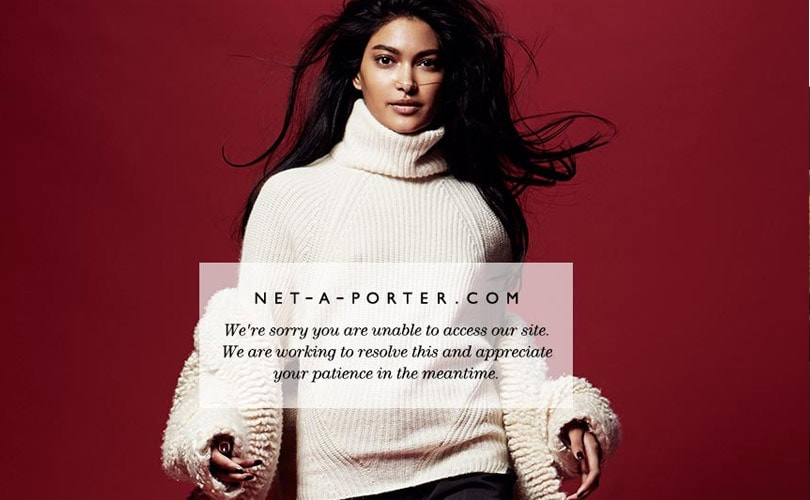 Le Meilleur Net A Porter Crashes Ahead Of Black Friday After Launching Ce Mois Ci