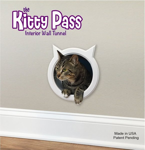 Le Meilleur The Kitty Pass Wall Entry Cat Door Cat Door Tunnel The Ce Mois Ci