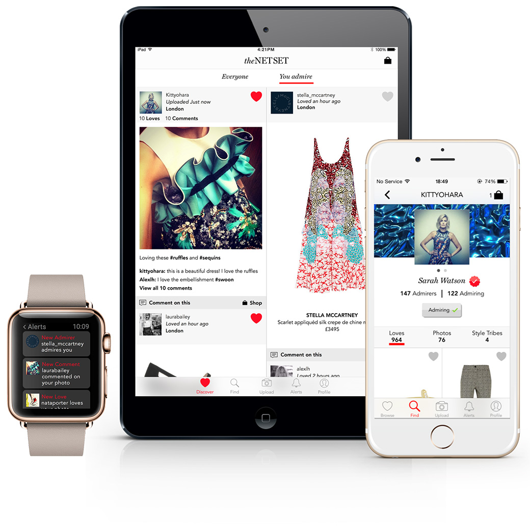 Le Meilleur Inside Net A Porter S New Iphone Ipad And Apple Watch Ce Mois Ci