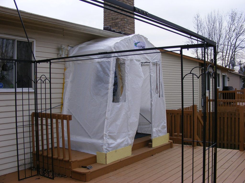 Le Meilleur Patio Door Shelter Instead Of Building My Own Every Ce Mois Ci