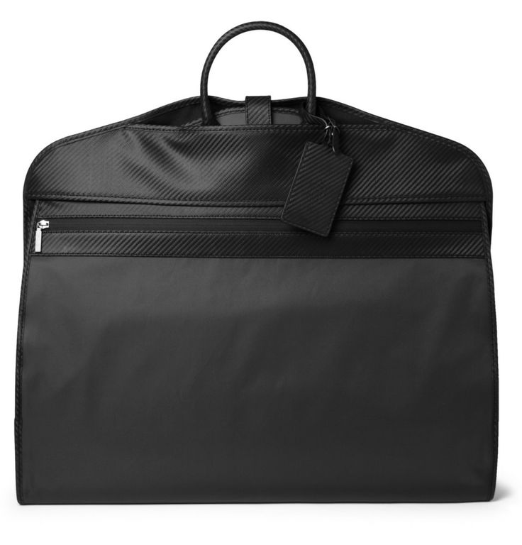 Le Meilleur Alfred Dunhill Chassis Leather Trimmed Suit Carrier Mr Ce Mois Ci